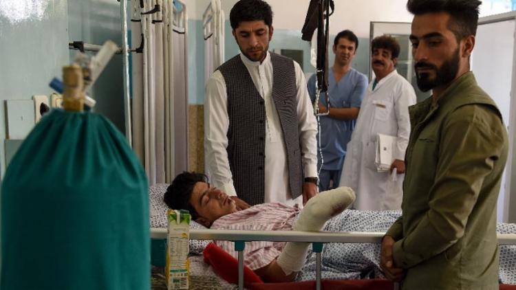 Além dos mortos, ataque também deixou 182 feridos - Foto: Wakil Kohsar | AFP