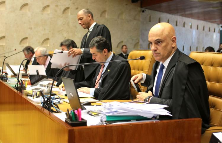 A edição de ato normativo pelo presidente do Tribunal de Justiça da Bahia, apontou o ministro, não teria o poder de resultar no aumento do subsídio dos auditores fiscais - Foto: Divulgação l STF