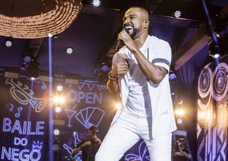 O cantor se apresenta no dia 13 de outubro e promete um show com 3h de duração - Foto: Divulgação