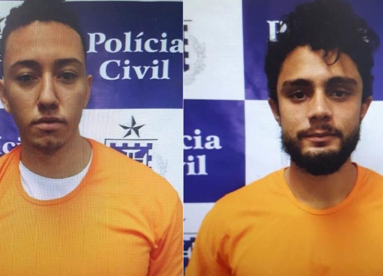 A dupla já havia sido presa em dezembro de 2016 - Foto: Divulgação | Polícia Civil