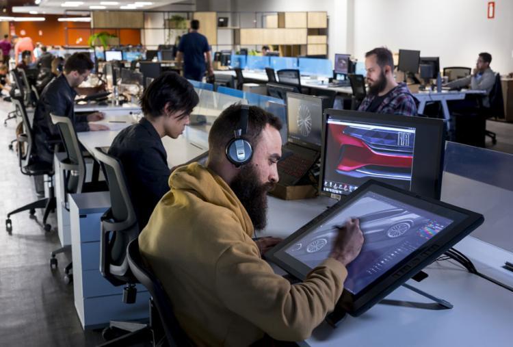 Design Center Latam conta com cerca de 150 profissionais - Foto: Leo Lara | Divulgação