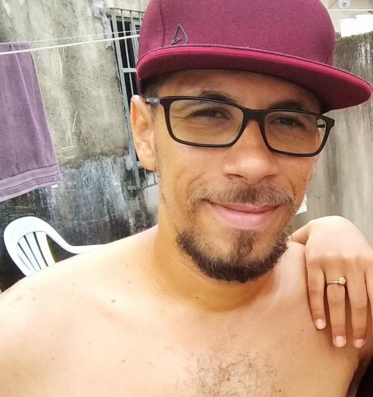 O sumiço do homem foi percebido pela namorada dele, Paloma Costa - Foto: Arquivo Pessoal