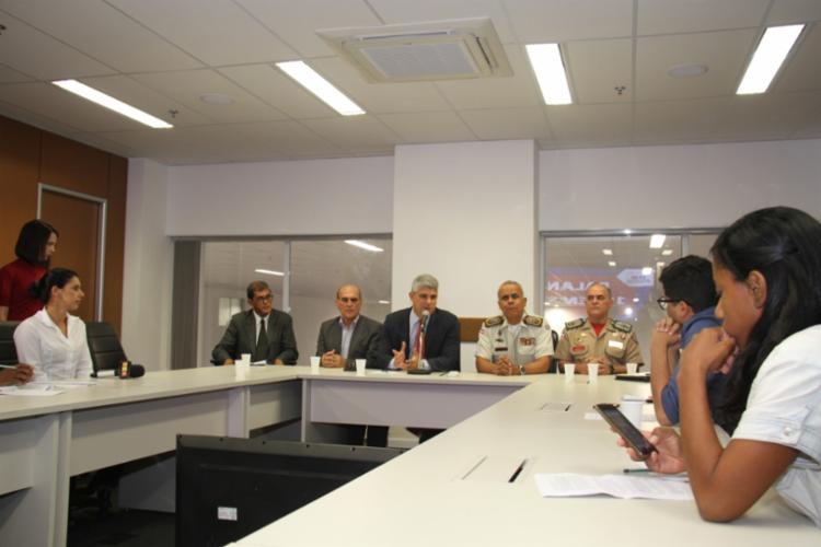 Segundo o secretário, há em curso uma nova licitação para implementações de mais câmeras - Foto: Vitor Barreto | SSP-BA