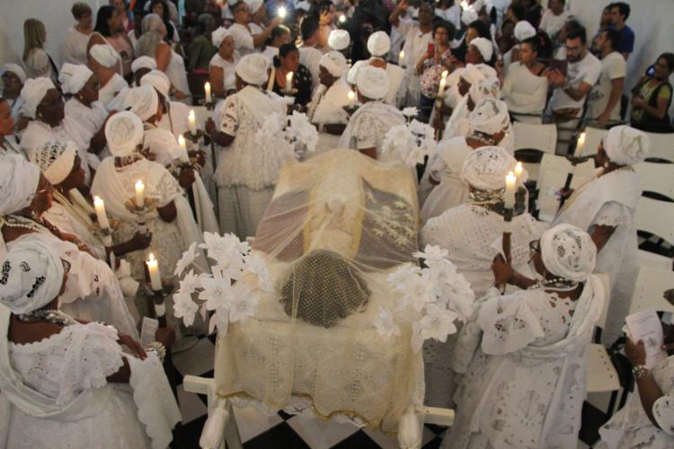 Rito acontece há 199 anos por descendentes de escravizados e é reconhecido como Patrimônio Imaterial pelo Ipac - Foto: Jomar Lima l Divulgação