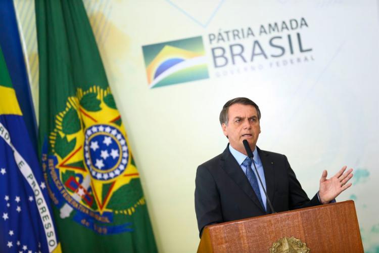 Segundo presidente, 'ministros estão apavorados' e 'tentam fazer milager' - Foto: Marcelo Camargo l Agência Brasil