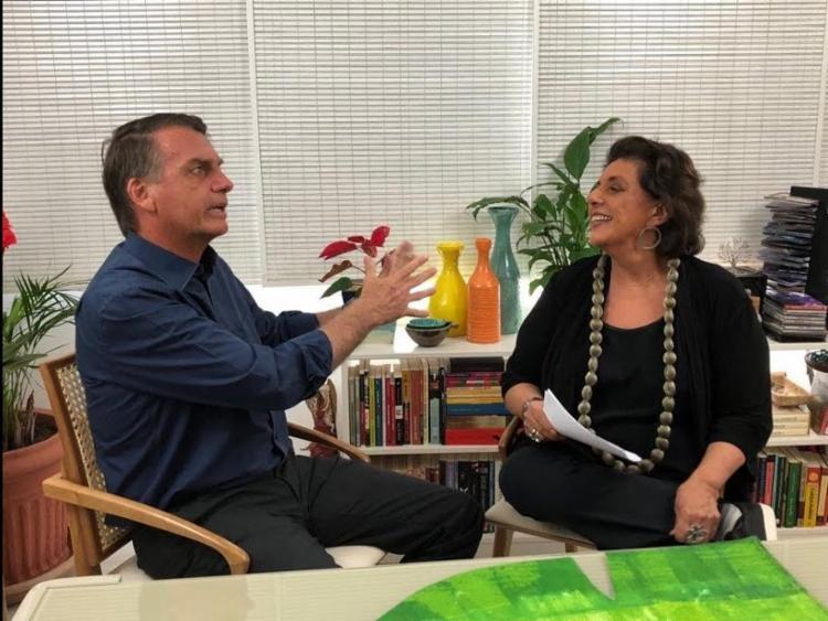 Declaração ocorreu em entrevista ao canal da Leda Nagle, no YouTube - Foto: Reprodução | YouTube