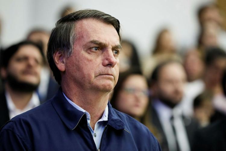 Bolsonaro apresentou uma versão sobre a morte do militante que não tem respaldo em informações oficiais - Foto: Isac Nóbrega | PR
