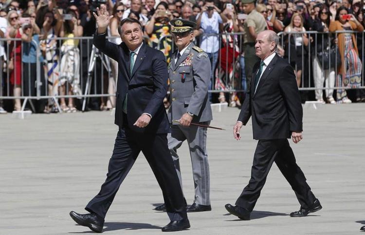 Após dizer 'quem manda sou eu', presidente amenizou o tom ao falar da troca no comando da PF - Foto: Fernando Frazão l Agência Brasil