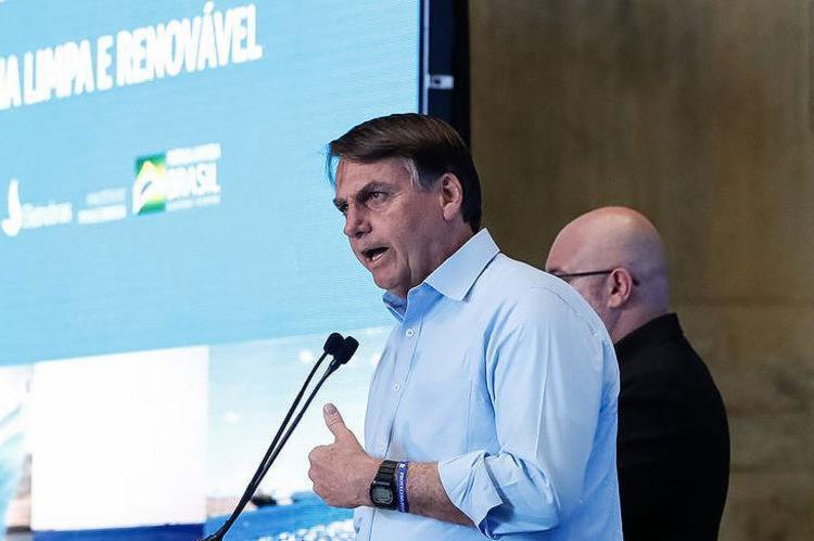 Presidente esteve no interior da Bahia para inaugurar uma usina de energia; ele minimizou atritos com governadores da região - Foto: Alan Santos l PR