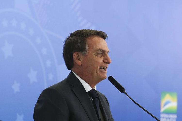 'Não queremos ver irmãos argentinos fugindo para cá caso estas eleições se confirmem', afirmou o presidente em Pelotas - Foto: Valter Campanato l Agência Brasil