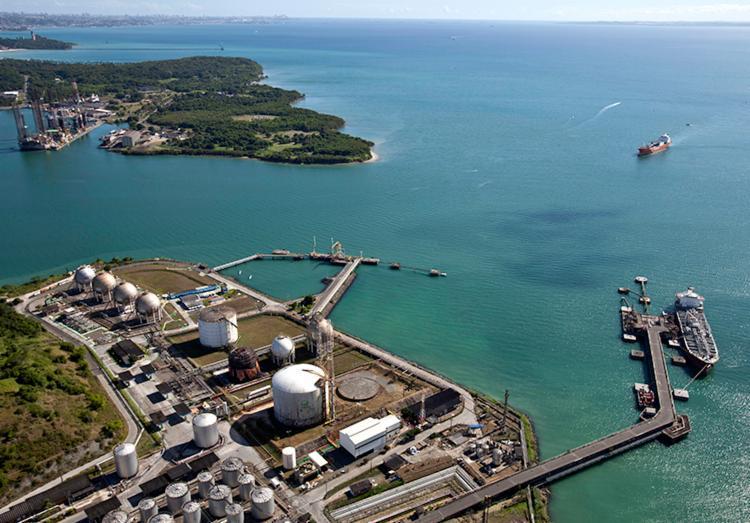 Intuito é avaliar o sistema de combate a emergências no porto e no mar - Foto: Divulgação