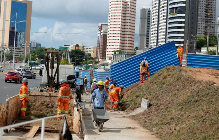 Ligação entre Lapa e região da rodoviária deve ficar pronta até 2020 - Foto: Joá Souza | Ag. A TARDE