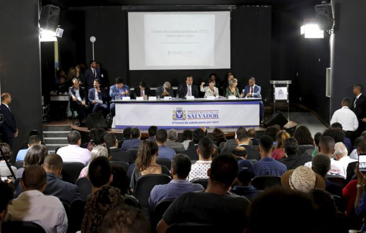O PL nº 133/19 foi o tema da discussão no encontro promovido pela Câmara dos Vereadores na tarde desta terça-feira, 6 - Foto: Adilton Venegeroles l Ag. A TARDE