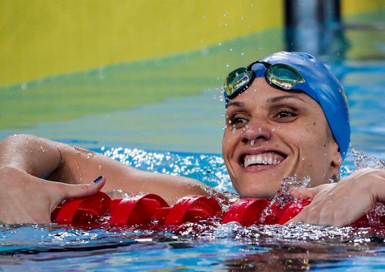 Nesta quinta, 29, Carolina nada os 400 metros e os 50 m livre - Foto: Ale Cabral   CPB