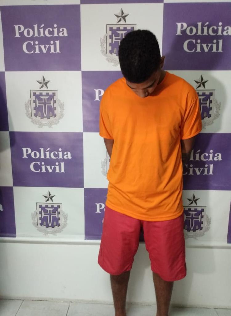 Cleilson se apresentou a polícia e confessou o crime - Foto: Leo Moreira