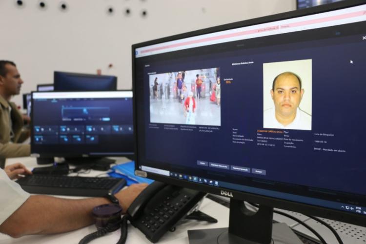 O suspeito foi seguido e interceptado dentro de um escritório - Foto: Divulgação | SSP