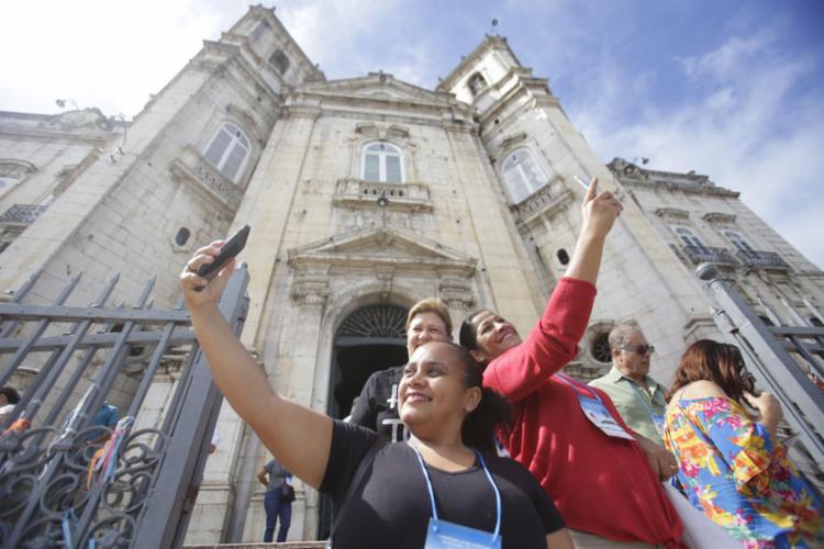 Esta semana é a vez do Congresso Latino-americano de Turismo Religioso - Foto: Raul Spinassé l Ag. A TARDE