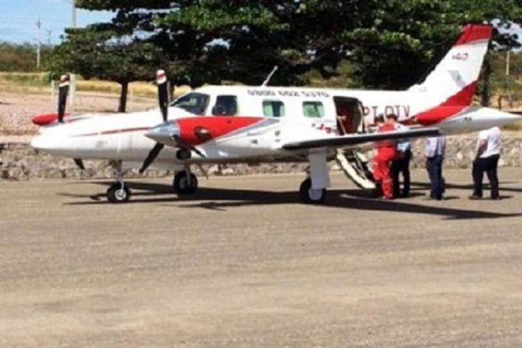 Criança foi transferida de avião para UTI em Salvador - Foto: Reprodução | Site 97 News