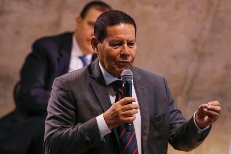 Mourão culpou interesses comerciais pelas críticas feitas por Macron, à gestão do Brasil na Amazônia - Foto: Tomaz Silva | Agência Brasil