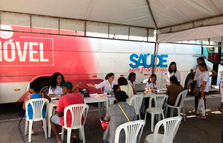 Hemóvel tem capacidade para coletar 120 bolsas de sangue em jornada de oito horas - Foto: Divulgação