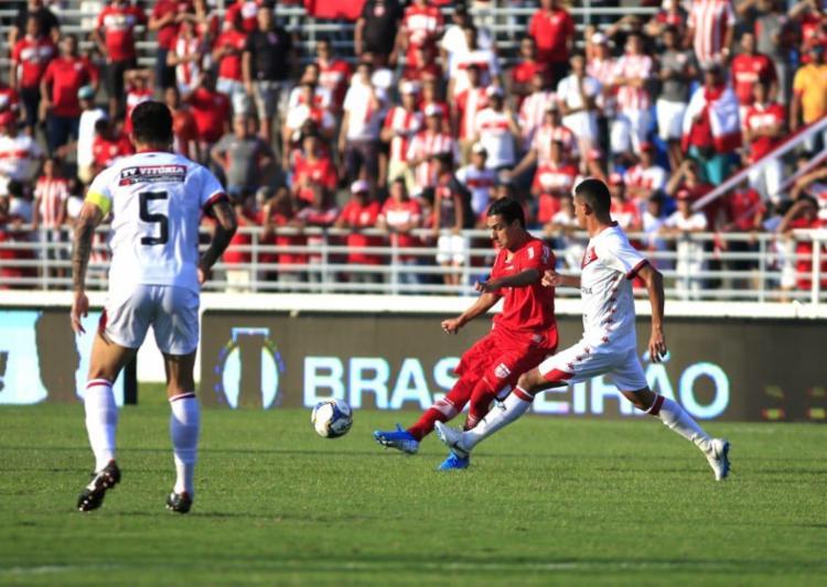 Vitória conquistou primeiro triunfo fora de casa na Série B - Foto: Ailton Cruz | Gazeta de Alagoas