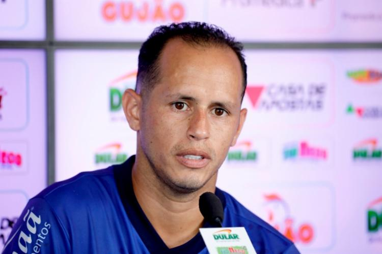 Meia pediu foco ao elenco para duelo diante do Atlético-MG - Foto: Felipe Oliveira | EC Bahia