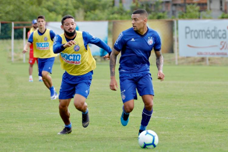 O Arthur Caike foi liberado pelo STJD e vai para o jogo - Foto: Divulgação | EC Bahia