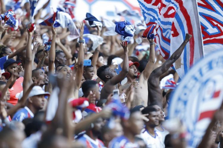 Após os últimos resultados, duelo do próximo domingo, 18, promete casa cheia - Foto: Adilton Venegeroles | Ag. A TARDE