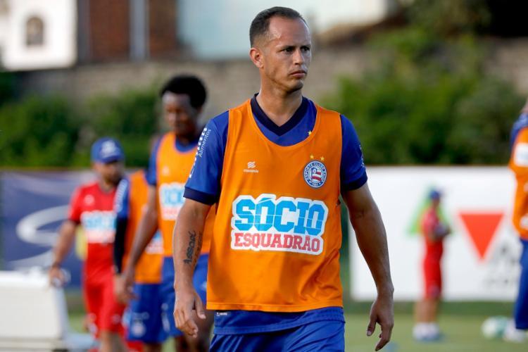 O meia venezuelano deve começar a partida no próximo sábado, 31 - Foto: Felipe Oliveira | EC Bahia