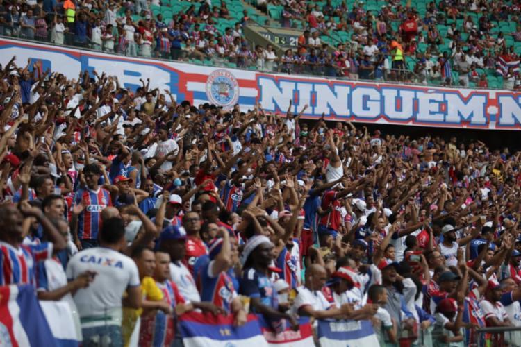 Tricolor venceu mais uma com o apoio da torcida