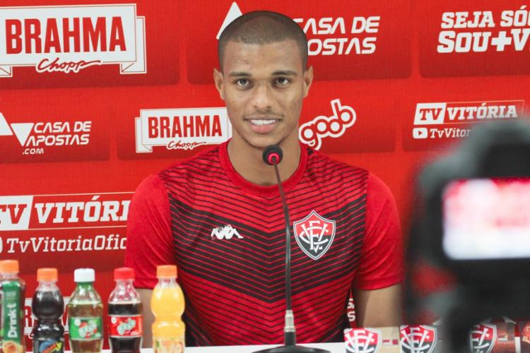 Zagueiro foi o autor do gol de empate diante do Coritiba, na última rodada - Foto: Letícia Martins   EC Vitória