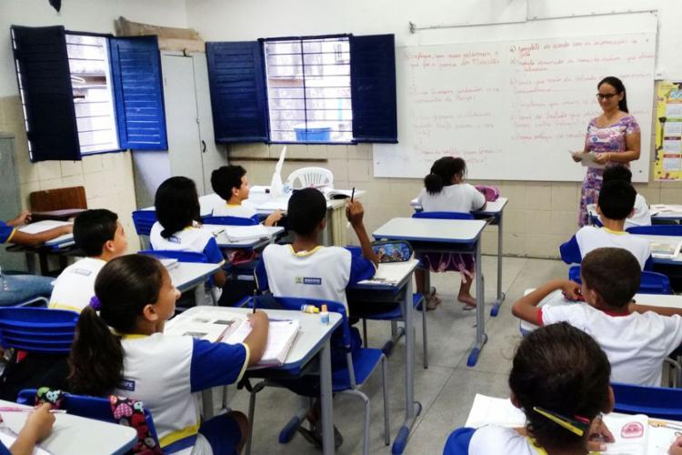 A quantidade de ingressantes em cursos voltados à docência reverteu entre as modalidades presencial e a distância - Foto: Sumaia Vilela | Agência Brasil