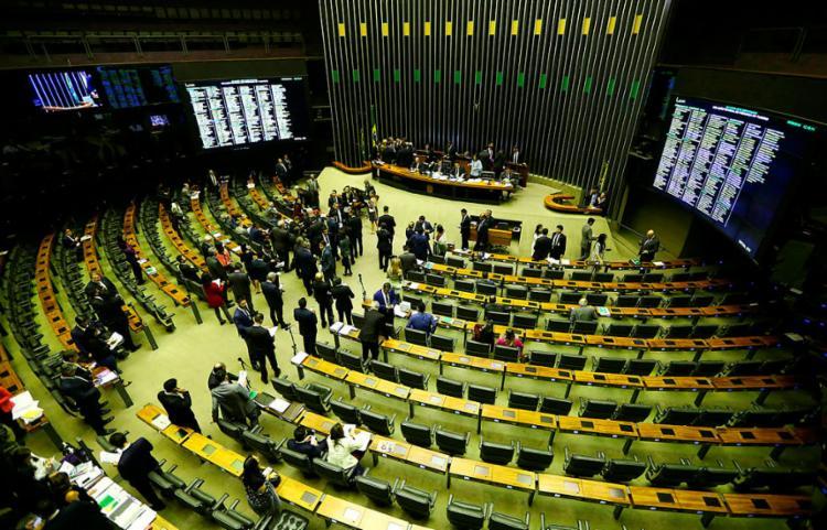Alunos irão elaborar projetos de leis e debater na Câmara Federal - Foto: Marcelo Camargo | Agência Brasil