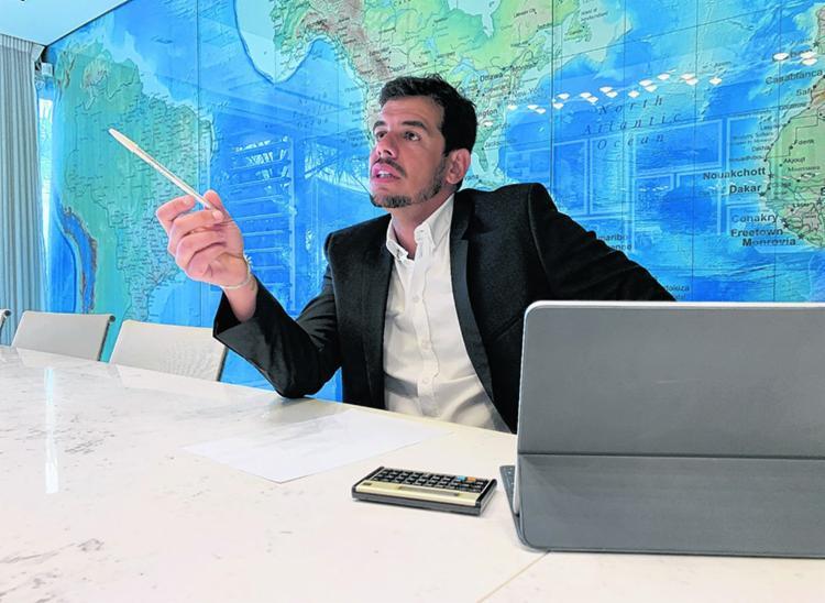 Gabriel Costa, 34 anos, fez o caminho inverso e hoje é ele quem tem negócios fora do país - Foto: Divulgação | Major Development