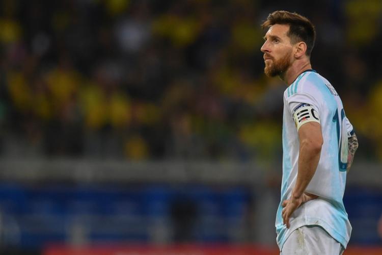 Messi disse que a Copa América foi manchado por corrupção - Foto: Pedro Ugarte | AFP