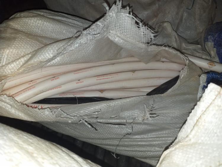 As dinamites estavam divididas em bananas de dinamite - Foto: Divulgação I SSP-BA