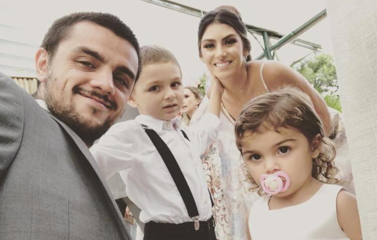 Felipe Simas e Mariana Uhlmann já são pais de Joaquim, 5, e Maria, 2 - Foto: Reprodução | Instagram