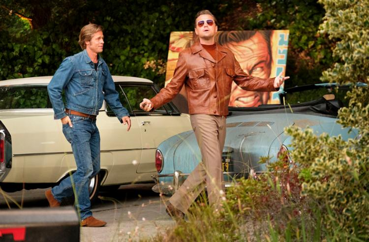 Estrelado por Brad Pitt e Leonardo Di Caprio, filme fez mais de R$ 1 milhão em apenas um dia - Foto: Divulgação