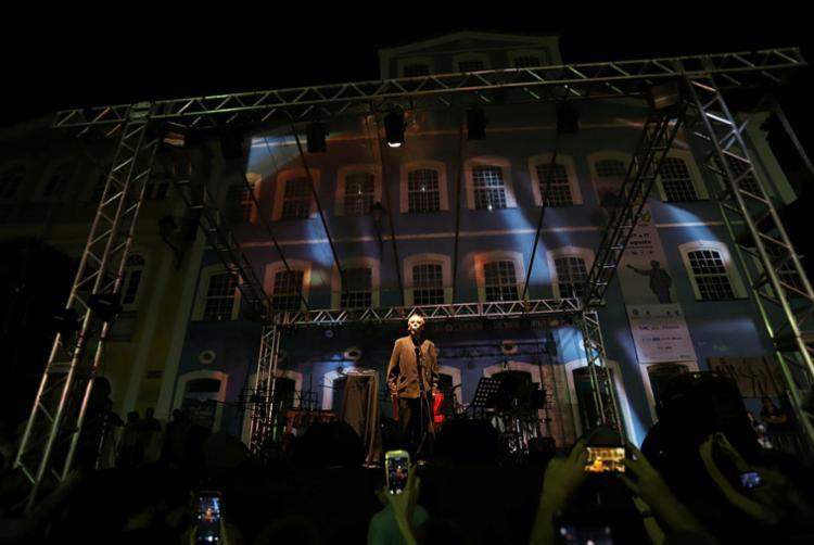 Arnaldo Antunes se apresentou na abertura do evento - Foto: Uendel Galter I Ag. A TARDE