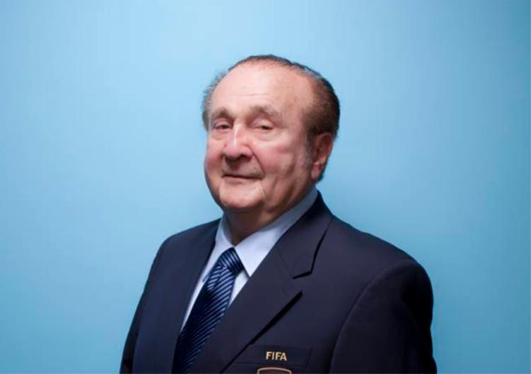 Leoz presidiu a Conmebol por 27 anos, de 1986 a 2013 - Foto: Simon Bruty   Fifa