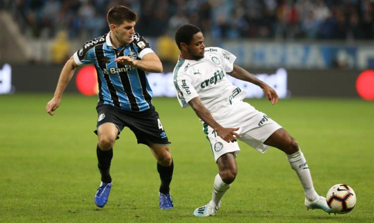 Fase quartas-de-final da competição se iniciou nesta terça-feira com a partida entre Grêmio e Palmeiras - Foto: Divulgação | SE Palmeiras
