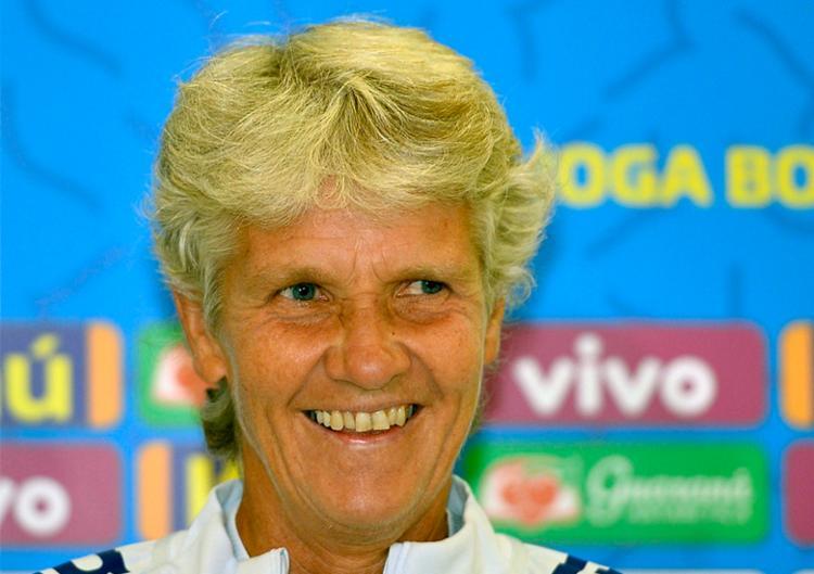 Técnica sueca Pia Sundhage faz sua estreia contra a Argentina, às 21h30 - Foto: Mauro Horita | CBF
