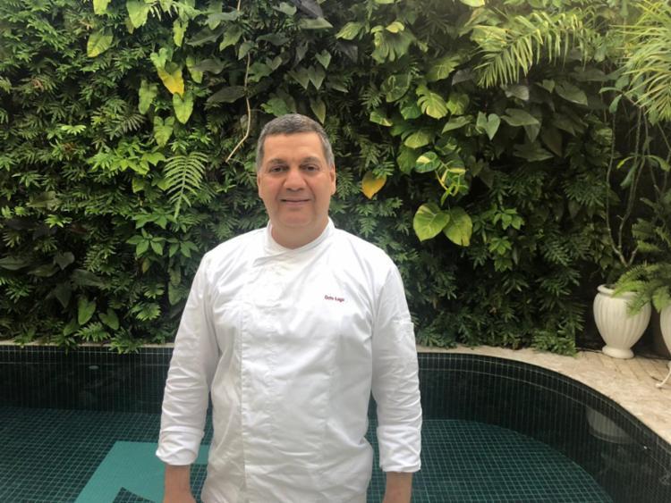 Chefe Guto Lago, do restaurante do hotel Villa Bahia