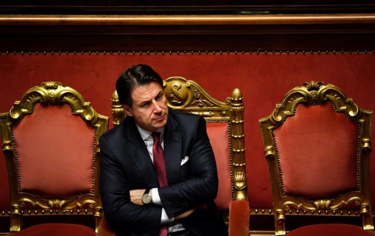 Conte deixa o cargo após uma série de divergências na base do governo - Foto: Andreas Solaro l AFP