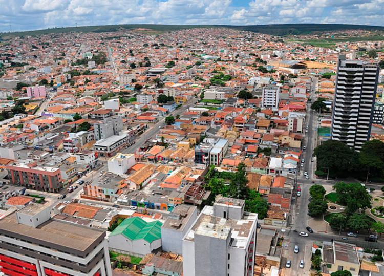 Vitória da Conquista passa por período de seca - Foto: PMVC | Divulgação