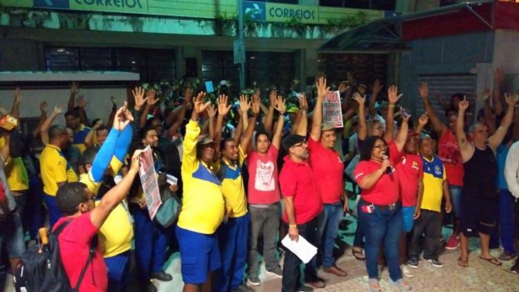Funcionários esperam nova proposta do TST para decidir sobre rumos da greve - Foto: Divulgação I Sincotelba