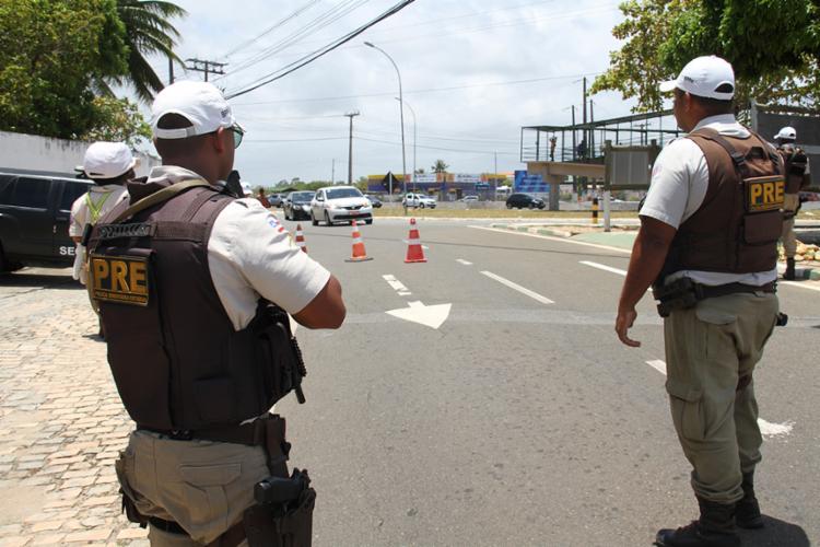 Suspeito foi encontrado durante patrulha policial na Estrada do Derba - Foto: Divulgação | SSP