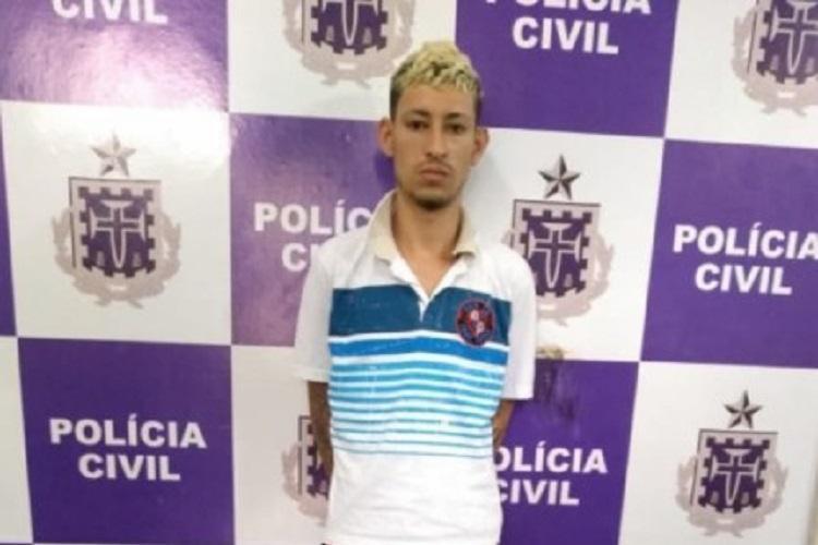 Luiz Felipe Santos, conhecido como 'Felipe Badalo' foi preso nesta sexta-feira, 16 - Foto: Divulgação   Polícia Civil