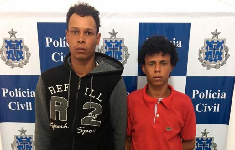 Dupla está à disposição da vara criminal - Foto: Divulgação | Polícia Civil