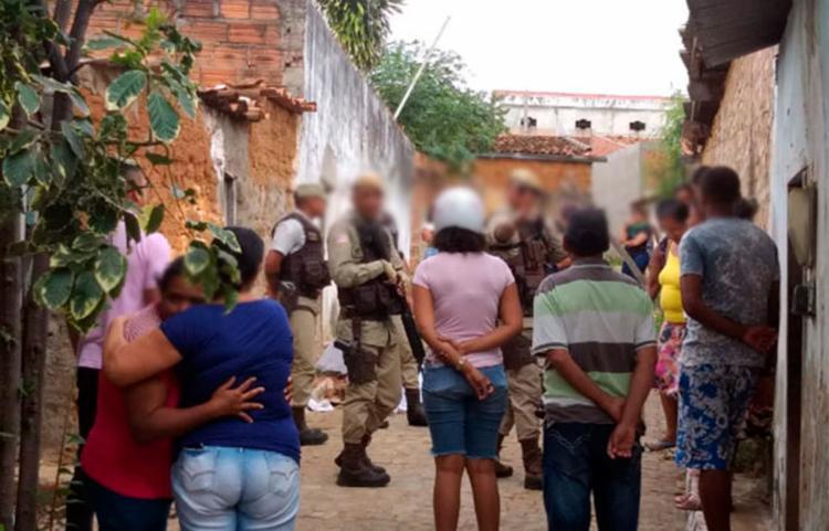 A vítima foi atingida na região da cabeça - Foto: Wilker Porto | Agora Sudoeste